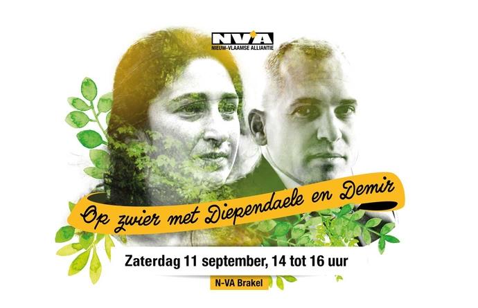 Op zwier met Diependaele en Demir: zaterdag 11 september